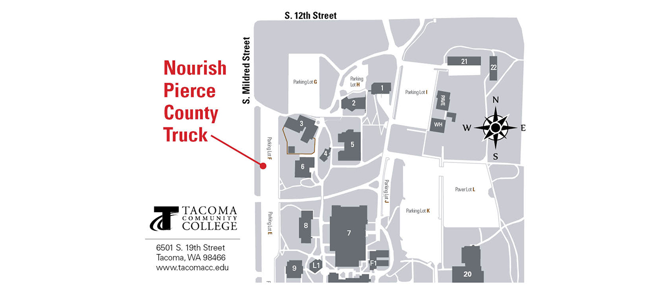 Nourish Pierce County Truck Coming to Campus Tuesday Nights